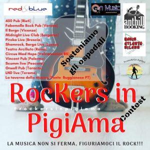 Rockers in pigiama contest