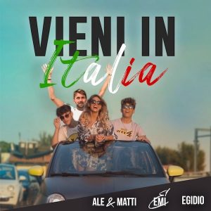 Cover Vieni in Italia